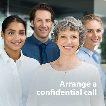 Arrange a confidential call